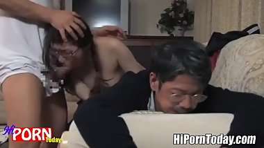 My stepfather loves to fuck me when finish letting others have sex with me