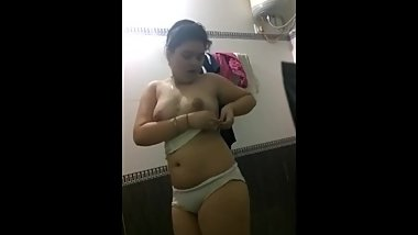 Desi Girl friend's erotic teasing 9