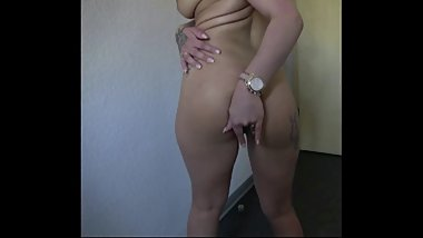 Black Hair Teen, German Hotel, Boob licking, Strip, Masturbate, Amateur