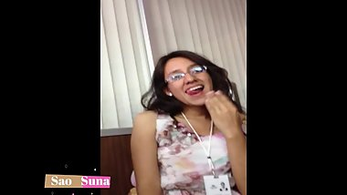 full vid real amateur my truly face 18yo first blowjob facial in the office