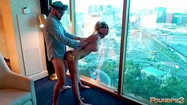 Hot Girl Gets Fucked Over The Vegas Strip! Behind The Scenes Unedited Cam 3