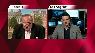 Old British Man Andrew Neil Bends Over Young Jewish Boy Ben Shapiro