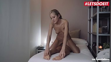 LETSDOEIT - Horny Massage Girl Gets Help Cumming From Spanish Swingers