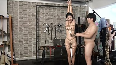 Young Chinese Model Tied and Fucked by Hong Kong photographer part 2