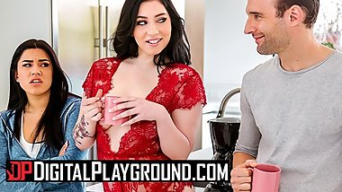Digital Playground - Curvy bff Amilia Onyx makes men cheat