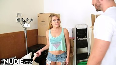 Hot Storage Locker Sex With Abby Cross