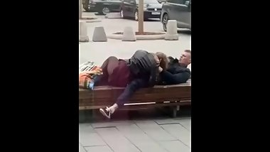 Blowjob in the street