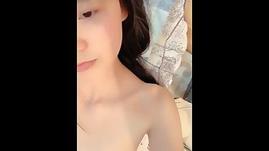 Cute Skinny Chinese Teen Live Close-up Creampie