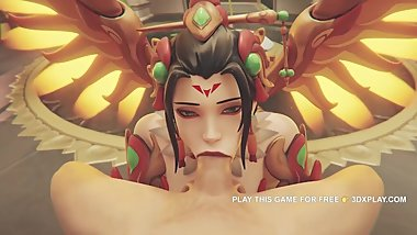 Overwatch Sex 2019 - Mercy The Best Sucked Cock
