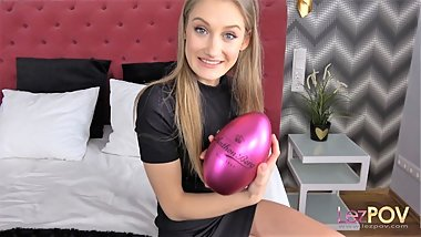 Tiffany Tatum spends Easter with her girlfriend, fucking like bunnies