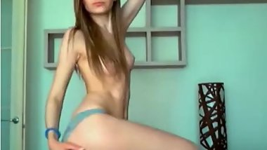 Teen Does Sexy Strip Tease