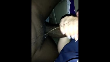 white Rose loves Sucking on Black Dicks