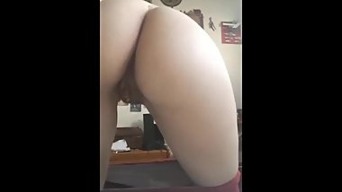 I am getting very wet - take me from behind and use my pussy please!