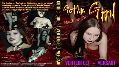 Gothic Girl demonized & dirty! Full Movie with Nadine Cays