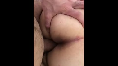 BLONDE GF GETS HER BIG BOOTY FUCKED IN BED