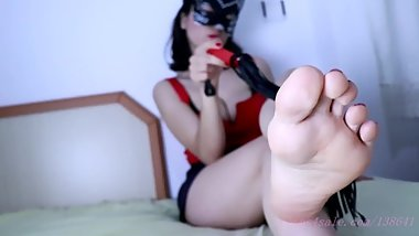 Foot Worship After Dancing All Night Part 2 (For Full Clip Visit My Store)