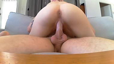 Nice ass ** pink pussy creampie** cowgirl **Molly Grail**