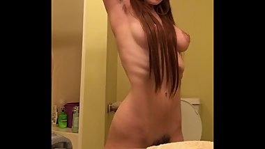 Posing nude for snapchat