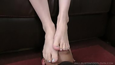 Teen soft Feet Smother Fetish MUST WATCH!