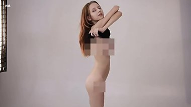 Hot teen strips for You! (Censored for losers)
