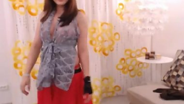 LittleTeenBB Riley topless dance and strip, shows breasts