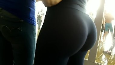 Candid Legging Teen Compilation - Part 1