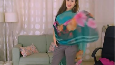 LittleTeenBB Riley striptease to just bra and panties, sexy tease