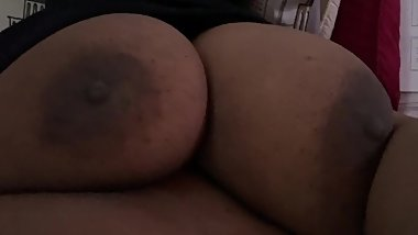 Playing with these bbw titties