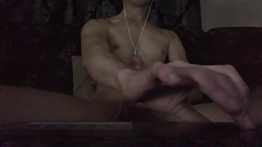 Watch me cum hard for you
