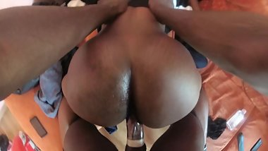 Young Teen Taking BBC Deep (part 2)